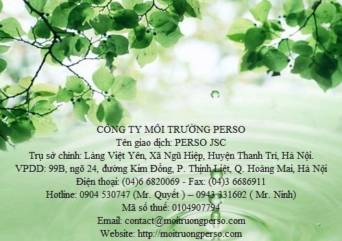 Liên hệ dịch vụ xử lý nước thải Uy tín tại Hà Nội