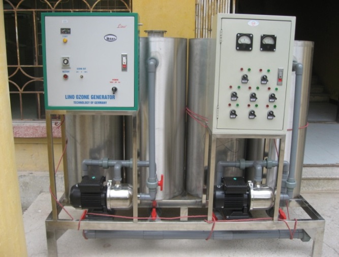 dự án Xử lý nước thải bệnh viện HỒng ngọc