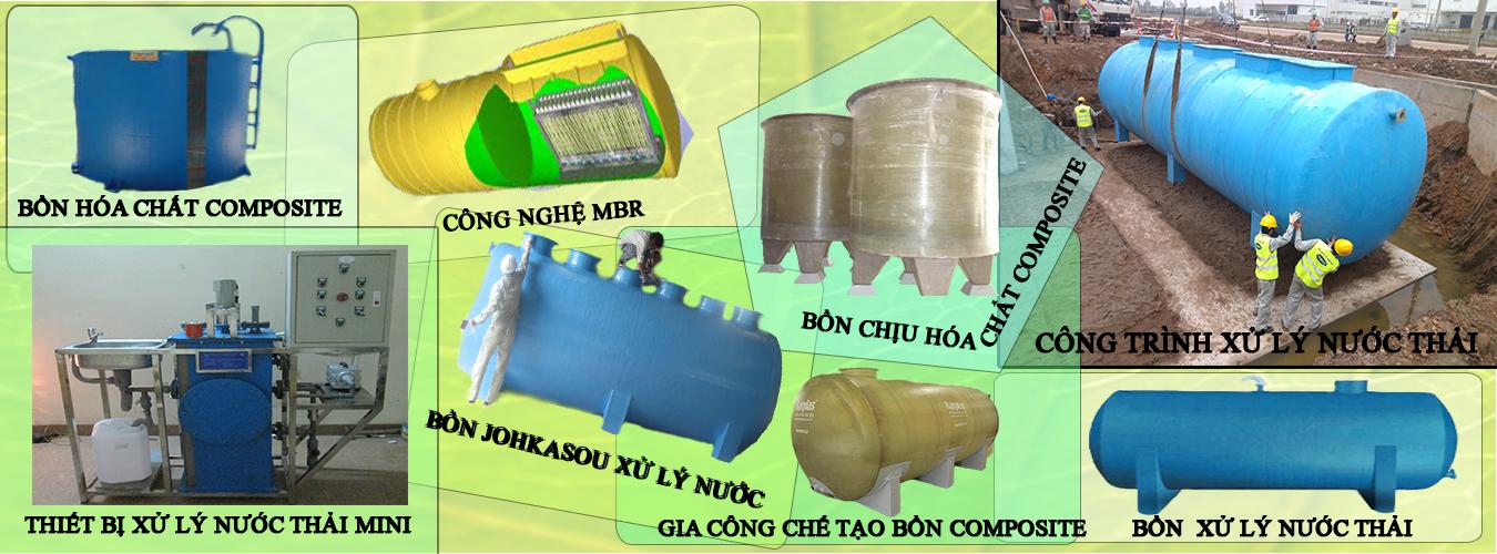 Các thiết bị xử lý nước thải hiện PERSO gia công và cung cấp