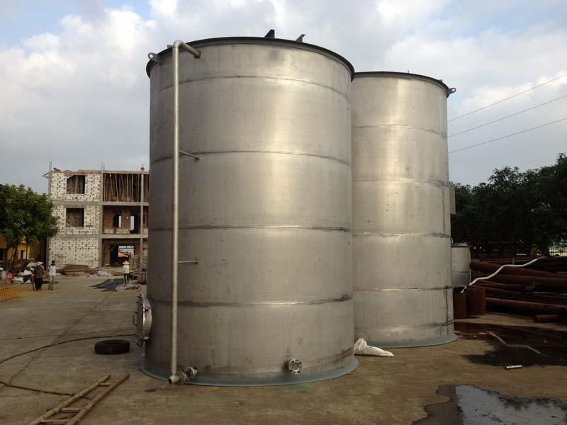 Hình ảnh thiết bị hợp khối xử lý nước thải vật liệu inox
