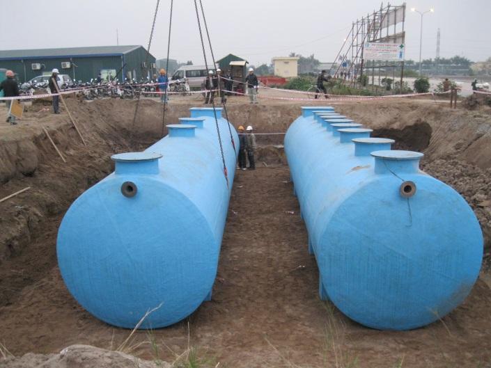 Thiết bị xử lý nước thải sinh hoạt FRP