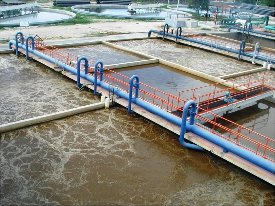 Hình ảnh xử lý nước thải sinh hoạt trong thực tế