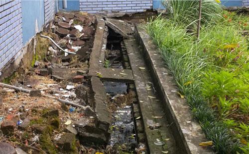 hệ thống thoát nước và xử lý nước thải bệnh viện thể thao việt Nam