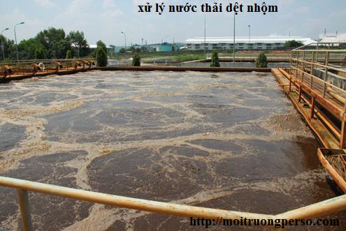 Những thay đổi đáng kể trong xứ lý nước thải công nghiệp dệt nhuộm