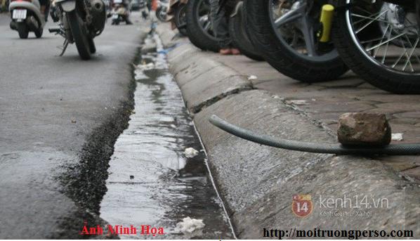 hiện trạng các hệ thống xử lý nước thải sinh hoạt - hệ thống thoát nước của Hà Nội