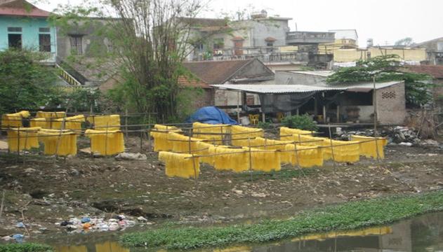 hiện trạng  o nhiễm nguồn nước, hệ thống xử lý nước thải công nghiệp, nước thải sinh hoạt yếu kém