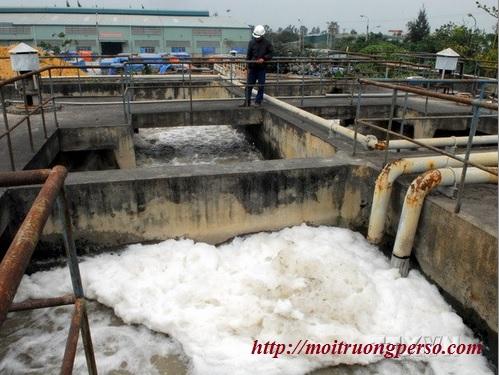Hệ thống xử lý nước thải tại Trà Vinh