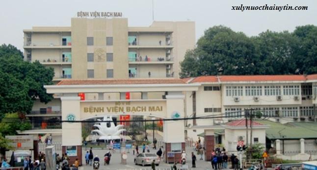 Hệ thống xử lý nước thải bệnh viện 59 tỉ của Bạch Mai