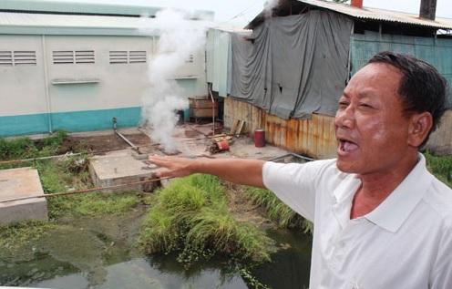 Hoạt động xử lý nước thải đang bị đặt dấu hỏi lớn