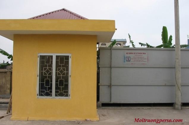 Phát triển và duy trì, bảo trì hệ thống xử lý nước thải bệnh viện