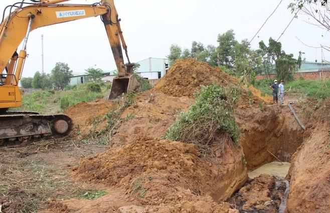 xả thải chưa qua xử lý ra môi trường, không thông qua hệ thống xử lý nước thải công nghiệp