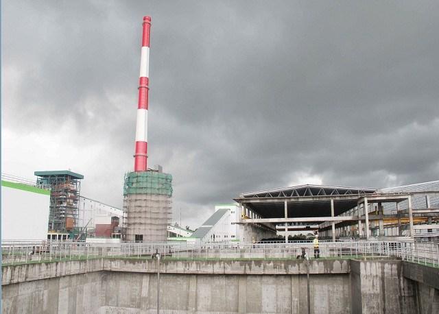 Hệ thống xử lý nước thải nhà máy Giấy LEE&MAN
