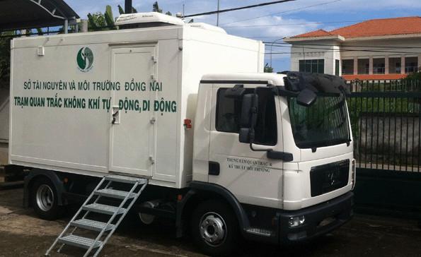 Trạm quan trắc môi trường tự động trong hoạt động xử lý nước thải