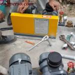 Kiểm tra đấu nối thiết bị xử lý nước thải sinh hoạt cho SEDO